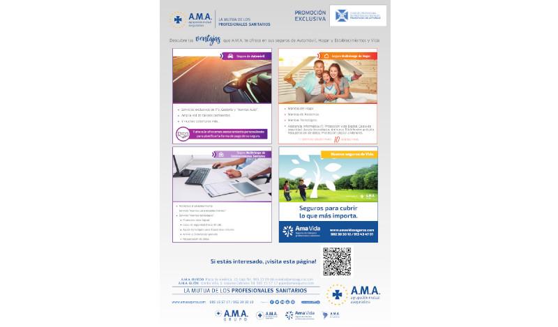 Promoción A.M.A. exclusiva para colegiados portada